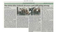 New York Amsterdam News - The Alvin Ailey School: 50 Years And Still Going Strong