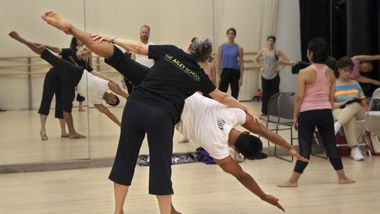 Ailey Extension's Horton Teacher Workshop Master Class with Ana Marie Forsythe. Photo Nicole Tintle.
