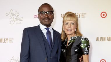 Alvin Ailey American Dance Theater Artistic Director Robert Battle and Ailey Board Chairwoman Daria Wallach