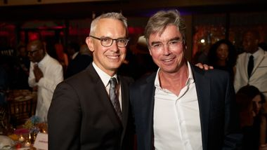Executive Director Bennett Rink and Gala Vice Chair Tom Maheras