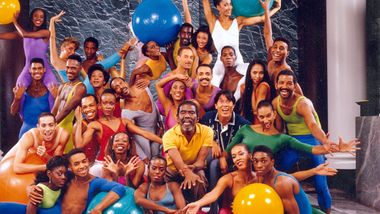 Alvin Ailey with the Company in 1989