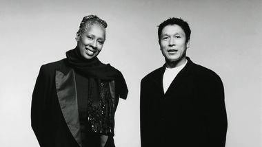 Judith Jamison and Masazumi Chaya