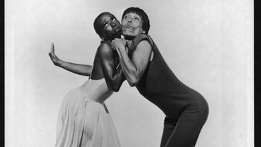 Marilyn Banks and Masazumi Chaya in George Faison's Suite Otis. Photo by Jack Mitchell. (©) Alvin Ailey Dance Foundation, Inc. and Smithsonian Institution