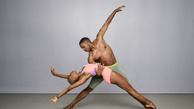 Alvin Ailey American Dance Theater's Akua Noni Parker and Michael Jackson Jr