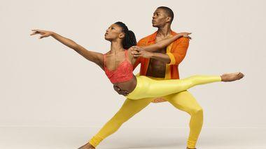 Alvin Ailey American Dance Theater's Jacqueline Green and Solomon Dumas