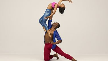 Alvin Ailey American Dance Theater's Jamar Roberts and Jacquelin Harris