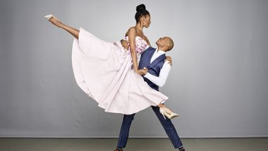 Alvin Ailey American Dance Theater's Jacqueline Green and Yannick Lebrun