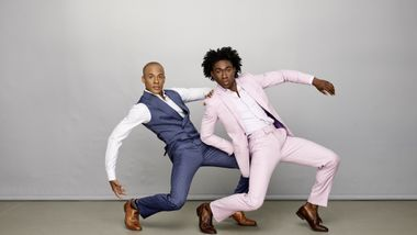 Alvin Ailey American Dance Theater's Yannick Lebrun and Chalvar Monteiro