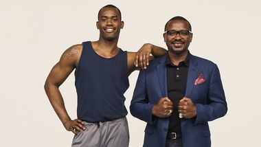 Resident Choreographer Jamar Roberts and Artistic Director Robert Battle