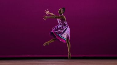 Ailey II's Brena Thomas in Alia Kache's The Gone. Photo by Nir Arieli