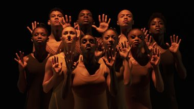 Ailey II in Alvin Ailey's Revelations. Photo by Nir Arieli
