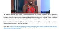 Pix 11 - Alvin Ailey Summer Camp Program Spotlight