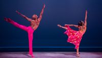 AADT's Jacquelin Harris and Yannick Lebrun in Alvin Ailey's Phases