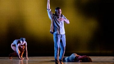 AAADT's Solomon Dumas, Jacqueline Green and Jessica Amber Pinkett in Camille A. Brown's City of Rain
