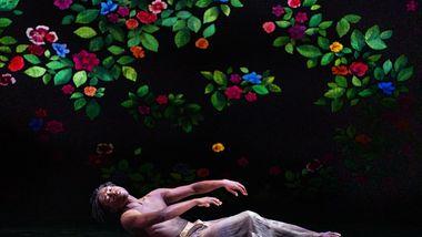 Alvin Ailey American Dance Theater's Chalvar Monteiro in Jamar Roberts' Ode