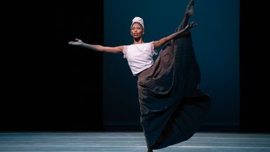 Alvin Ailey American Dance Theater's Jacqueline Green in Donald Byrd's Greenwood