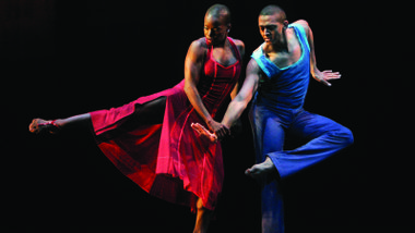 Alvin Ailey American Dance Theater's Hope Boykin and Clifton Brown in Judith Jamison's Reminiscin' (A Case of You excerpt)