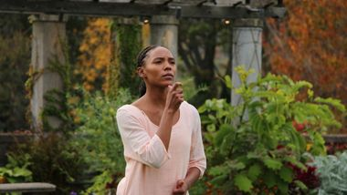 Alvin Ailey American Dance Theater's Samantha Figgins in Testament by Matthew Rushing Clifton Brown and Yusha-Marie Sorzano at Wave Hill Public Garden and Culture Center