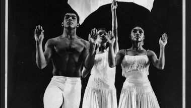 Alvin Ailey, Lucinda Ransom, and Loretta Abbott in Alvin Ailey's Revelations