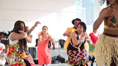 Brasilian Carnaval Workshop with Danielle Lima and Janete Silva