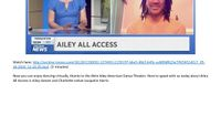 Spectrum News Charlotte - Ailey All Access