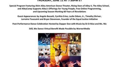 2020 Ailey Spirit Benefit Global Broadcast Release 061020_Final