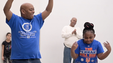 Ailey Extension's Father's Day West African Class