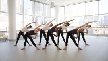 The Ailey School junior division students. Photo by Rosalie O'Connor