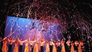 Alvin Ailey American Dance Theaters New Years Eve Performance at New York City Center