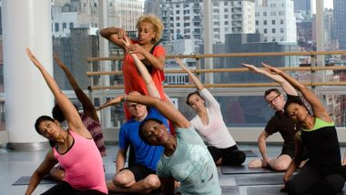 Restorative Stretches with Sarita Allen at Ailey Extension