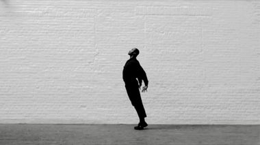 Ailey's Resident Choreographer Jamar Roberts in his dance film, In Memory, a tribute to John Lewis