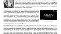 Vulture: Alvin Ailey, Rita Moreno, And The Privacy Of Art