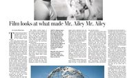 The Washington Post - Film Looks At What Made Mr. Ailey Mr. Ailey