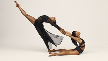 Alvin Ailey American Dance Theater's Jacqueline Green and Khalia Campbell