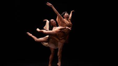 Alvin Ailey American Dance Theater's Samantha Figgins and Miranda Quinn