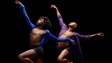 Alvin Ailey American Dance Theater's Chalvar Monteiro and Yannick Lebrun