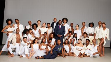 Alvin Ailey American Dance Theater with Artistic Director Robert Battle, Associate Artistic Director, Matthew Rushing and Rehearsal Director Ronni Favors