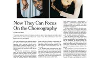 The New York Times - Now They Can Focus On Choreography