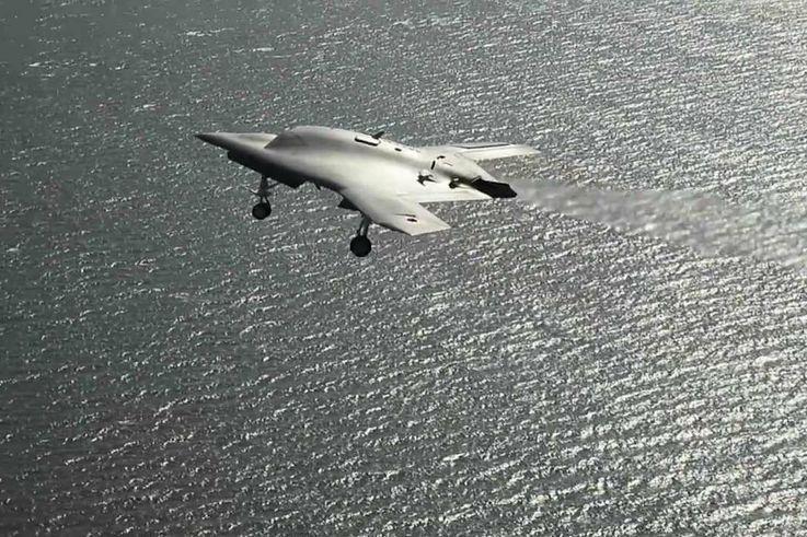X-47B UCAS B-Roll