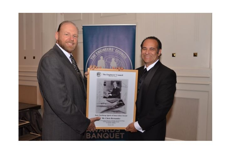 Northrop Grumman Employees Honored by the Engineers' Council for Accomplishments