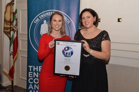 Margy Villa, Northrop Grumman, Engineers' Council Award