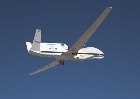 NASA Global Hawk Studies Severe El Nino Weather over the Pacific Ocean