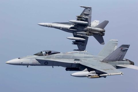 Northrop Grumman to Continue Logistics Support for Royal Australian Air Force F/A-18 Advanced Targeting Systems