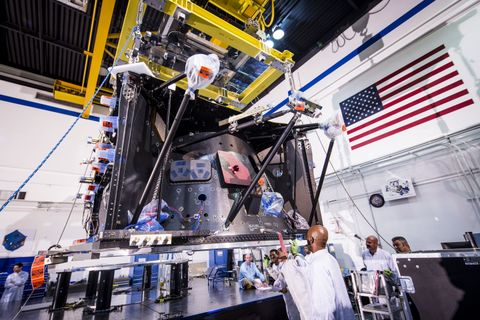 Northrop Grumman Team Successfully Completes Manufacturing of Optical Class Spacecraft Structure for NASA's James Webb Space Telescope