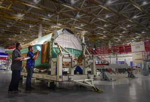 Photo Release -- Northrop Grumman Increases Production Rate for F-35 Center Fuselages