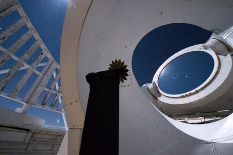 Photo Release -- Northrop Grumman Demonstrates Starshade's Ability to Identify Celestial Objects with Successful Tests at McMath-Pierce Solar Telescope in Arizona