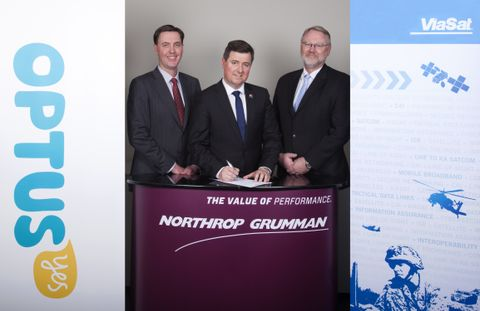 Photo Release -- Northrop Grumman Australia Partners with ViaSat and Optus to Deliver Next-Generation Satellite Communications for the Australian Defence Force