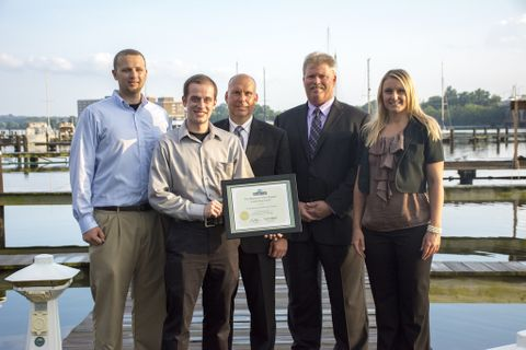 Photo Release -- Northrop Grumman Receives Maryland Green Registry Leadership Award from Maryland Department of the Environment