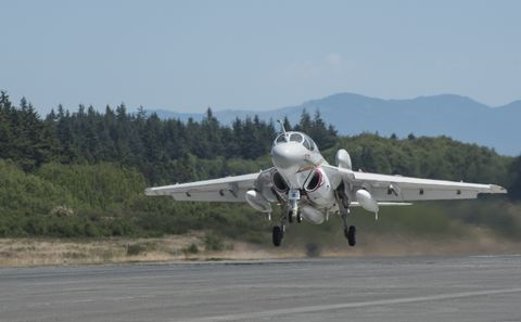 EA-6B Prowler, Final Take-Off