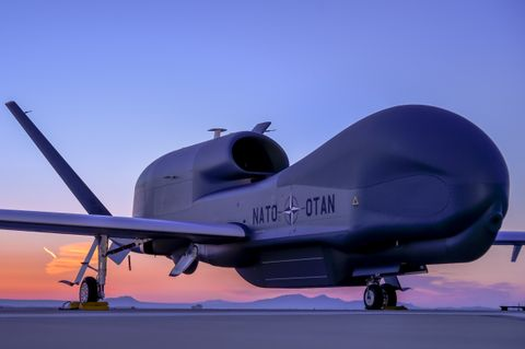 Photo Release -- NATO's First Alliance Ground Surveillance Aircraft Unveiled